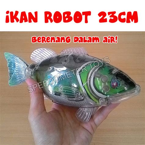 Robot Ikan Mainan Ikan U296 Jual Swimming Fish Mainan Ikan Robot Robofish Besar 23cm