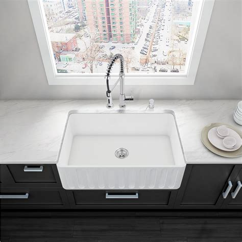 Home Depot Farmhouse Sink by Vigo All In One Matte Farmhouse 36 In 0