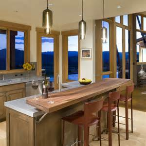 Kitchen island breakfast bar counter home design ideas pictures