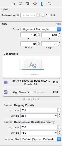 auto layout constraints xcode 6 working with ios 8 auto layout constraints in interface