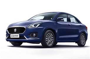 Maruti Suzuki Dzire Vdi 2017 Maruti Dzire Revealed As Indian Luxury Spec