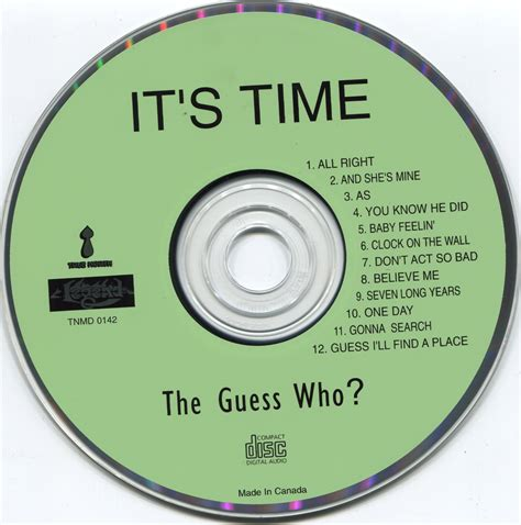 Its Time For A Of Guess Who Hollyscoop by The Guess Who It S Time 1966 True Legend 1997