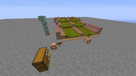 Minecraft Auto Planter by Automatic Wheat Farms Minecraft Project