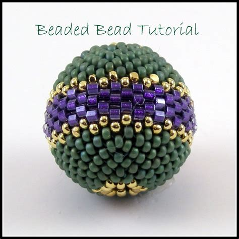 peyote beading tutorial tutorial beaded bead peyote stitch instant