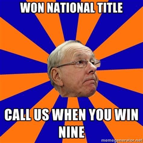 Jim Boeheim Memes - the jim boeheim quot good coach quot meme troy nunes is an
