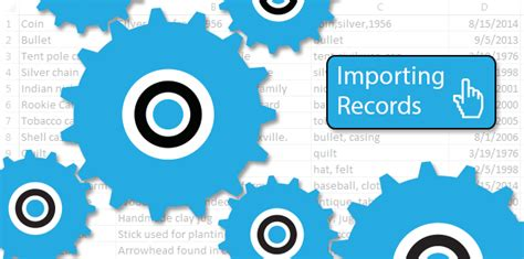 Import Records Storing Your Data Relicrecord