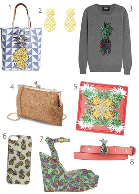 pineapple trend shop 40 exles of the pineapple fashion trend for spring
