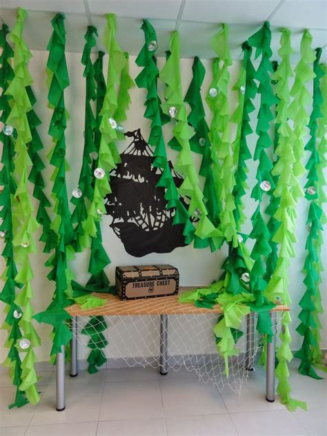 sea themed decorations best 25 plastic tablecloth decorations ideas on