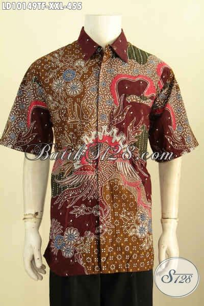 Kemeja Premium Jumbo model baju batik big size 2019 pakaian batik jumbo