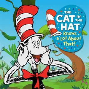The cat in the hat knows a lot about that vol 2 iartwork