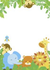 safari template image result for teal and yellow zoo animals baby shower