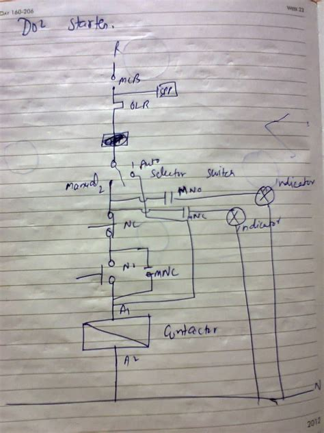 dol starter diagram electrical and elecrtonic world dol starter diagram