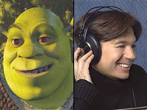 mike myers voice of shrek a list stars and animated features