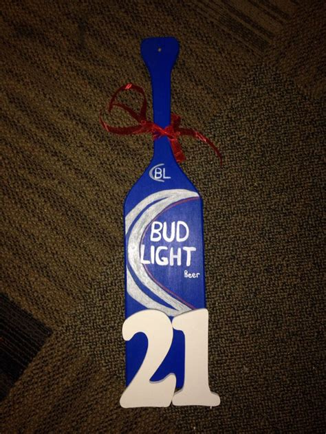 bud light 21st paddle my creations bud light bud and lights