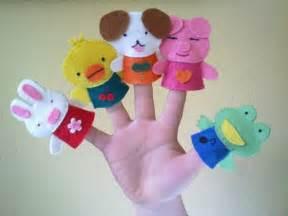 imagenes niños haciendo manualidades manualidades para ni 241 os fotos marionetas dedo ella hoy