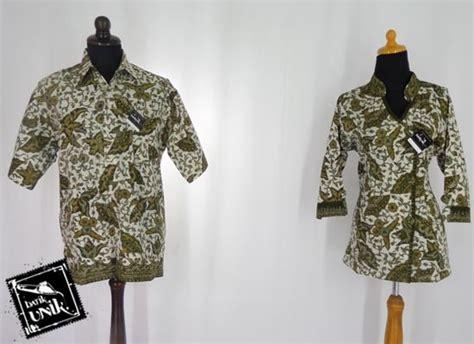 Batik Gamis Kipas baju batik sarimbit motif daun kipas blus tanggung murah