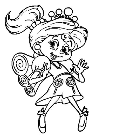 candyland coloring pages 008