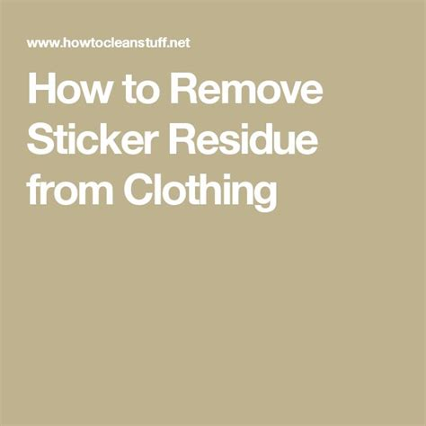 25 best ideas about remove sticker residue on pinterest