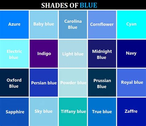 blue l shade 25 best ideas about shades of blue on light