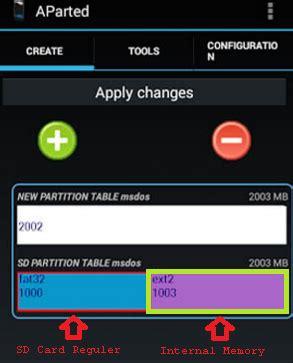 membuat link sd card cara tepat partisi micro sd card android dengan link2sd