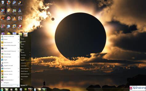themes for windows 7 in hd 神秘月食电脑桌面win7主题下载 最新的桌面主题 电脑主题下载网站 xpzhuti org