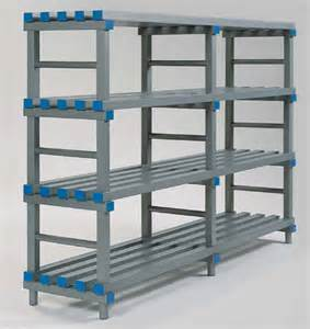 regale abstellraum decoplastic storage racks plastic rack shelving racks