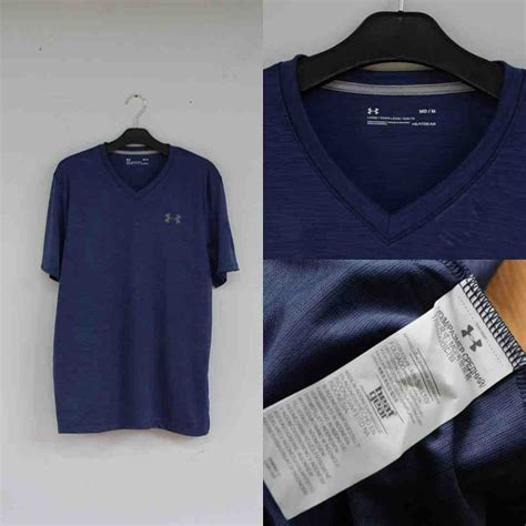 Kaos Armour Original 7 jual kaos armour heatgear v neck tshirt navy original baru armour heatgear v neck
