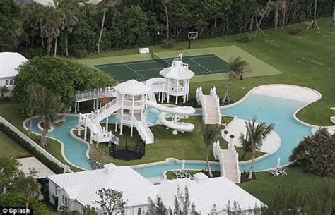 s day house by water dion s 20 million home features a water park