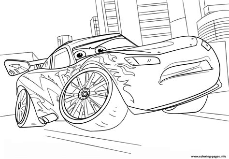 coloring pages of cars 3 lightning mcqueen from cars 3 disney coloring pages printable