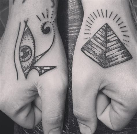 pyramid tattoo meaning meanings ink vivo