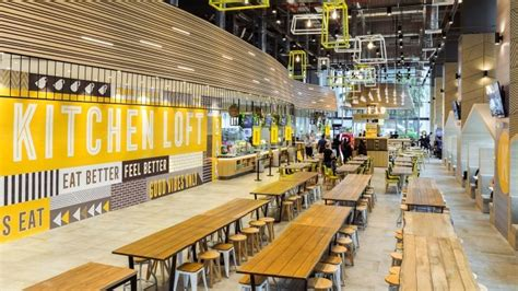new food court design kitchen loft is a new dining concept from ntuc foodfare a