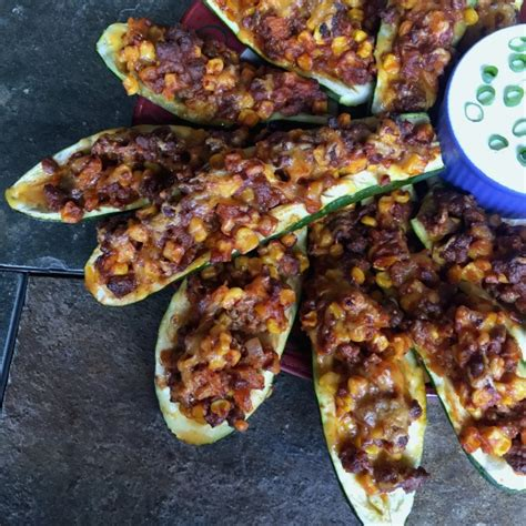taco boats zucchini taco zucchini boats for the solar eclipse or any day