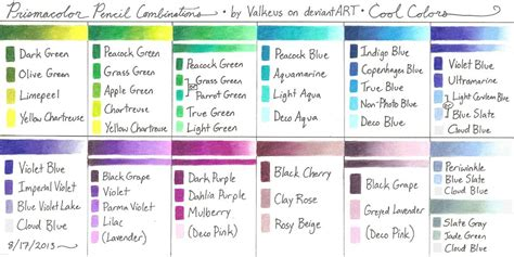 cool 2 color combinations prismacolor pencil journal prismacolor pinterest