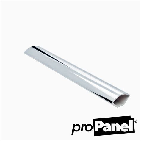 chrome quadrant trim silver chrome effect quadrant trim 2700mm length free