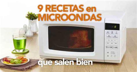 cocina en microondas recetas 9 recetas en microondas que salen bien divina cocina