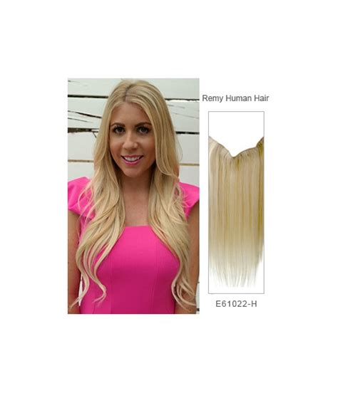 flip in hair 22 quot straight remy human hair miracle wire hair extension