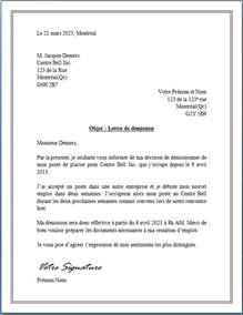 exemple de lettre de d 233 mission en belgique covering