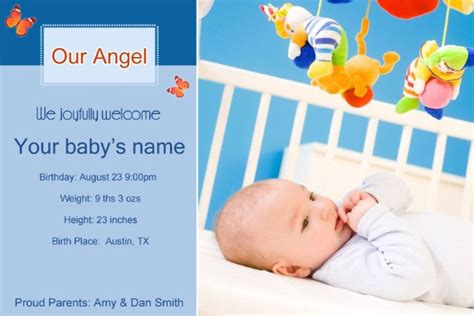 baby announcement template free doc 700434 free announcement templates bizdoska