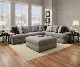 simmons sectional sofa simmons beautyrest 8561 pocket coil grey sectional sofa