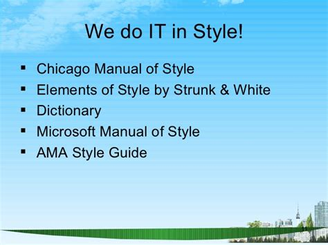 Chicago Manual Of Style Plural Mba by Report Writing Ppt Bec Doms Mba Genral