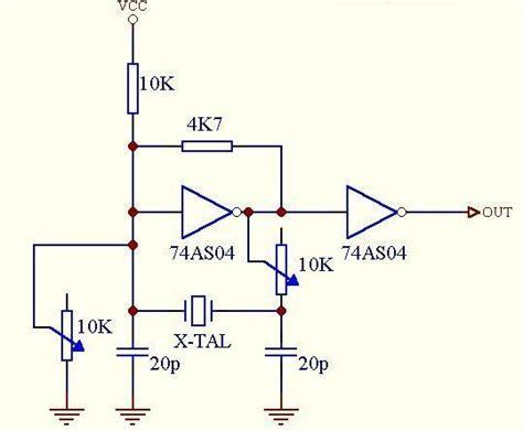jenis resistor 4k7 osilator koleksi skema rangkaian artikel elektronika