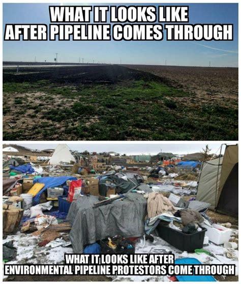 Pipeline Memes - final chilling report on dakota pipeline clean up reveals