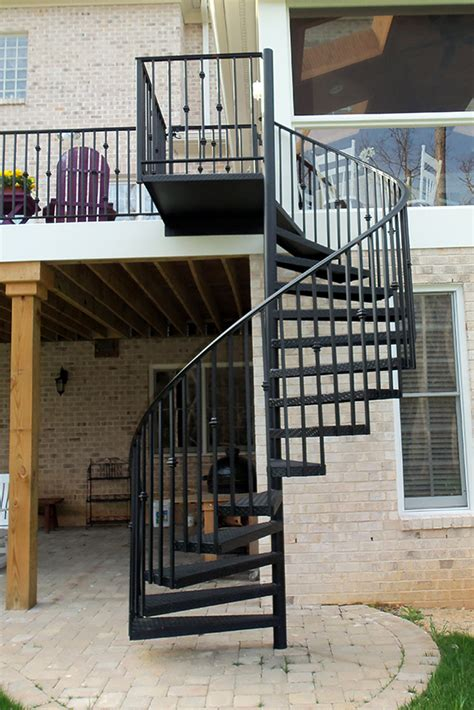 wrought iron staircase raleigh nc cast iron elegance