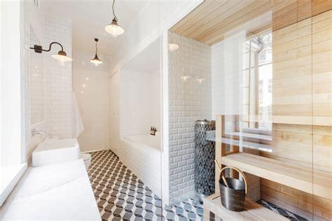 how to make a sauna in your bathroom the modern loft linda bergroth s light filled design