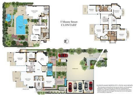 villa floor plans australia 9 600 square foot contemporary mansion in new south wales