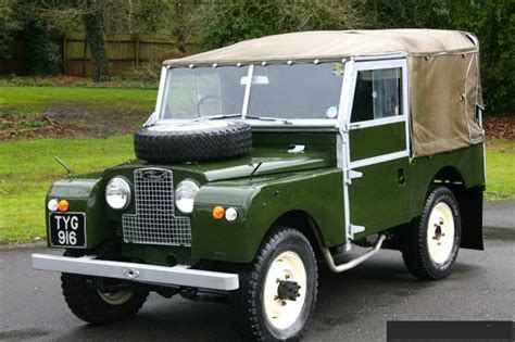 featured 1956 land rover series 1 at j spec imports