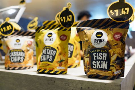 Irvins Salted Egg Snack irvins salted egg apologizes for dead lizard found in fish