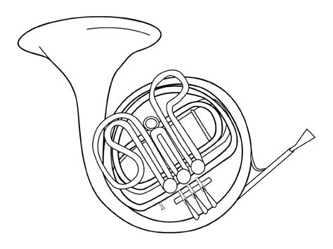 the stylish musical instrument coloring pages pertaining