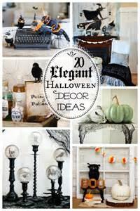 home made halloween decor 20 spooktacularly elegant diy halloween decor ideas the