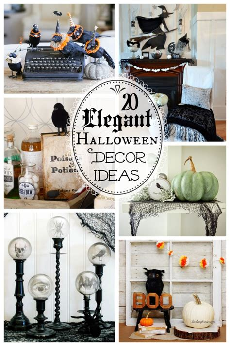 halloween home decor pinterest 20 spooktacularly elegant diy halloween decor ideas the